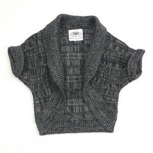 Justice Knit Open Front Shrug Size 6/7
